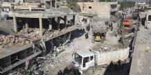 Des kurdes de syrie vises par un triple attentat de l'ei