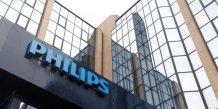 Philips publie une perte nette inattendue au 4e trimestre