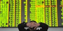 Cloture des bourses chinoises en baisse de plus de 6%
