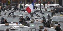 Taxis, grève, VTC, Jour de grogne