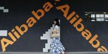 Alibaba fait mieux que prevu grace a une bonne fin d'annee