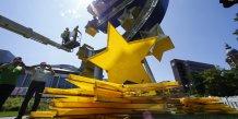 Europe, BCE, Francfort, ECB, Banque centrale européenne, euro, Draghi, Merkel, Hollande, frontières,