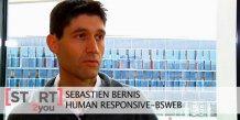 Sébastien Bernis est le fondateur de BSWeb, installée au BIC de Montpellier