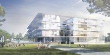 Le projet d'Atrium à l'université Paul Valéry Montpellier 3, dans le cadre de l'Opération Campus.