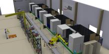 Installation robotique Sud Aéro