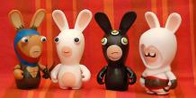 Lapins crétins de l'éditeur français de jeux vidéo Ubisoft. Rabbids! par Sergey Galyonkin via Flickr. CC License by.