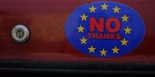 """Un possible """"brexit"""" pese sur la croissance britannique"""