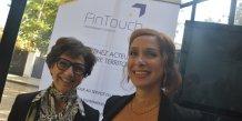 Anne Binder et Muriel Sembelie ont créé la plate-forme FinTouch à Nîmes.