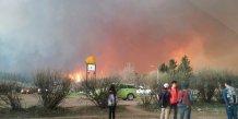 Alberta incendie