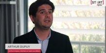 Arthur Dupuy a été la 1e start-up sélectionnée par Start2You