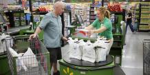 Supermarché américain