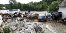 Inondations et orages font quatre morts en allemagne