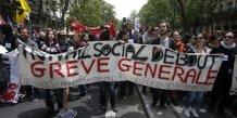 Les opposants a la loi travail continuent de protester