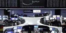 Les bourses europeennes finissent en nette hausse