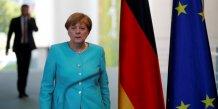Le brexit, un revers pour l'integration europeenne, juge merkel