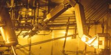Le robot de démantèlement nucléaire Maestro, du CEA Marcoule.