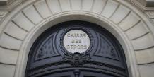 Les bureaux de la Caisse des dépôts (Caisse des depots ou CDC) à Paris le 28 juillet 2015