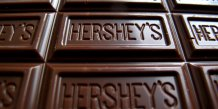 Photo d'illustration des bars de chocolat Hershey