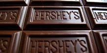 Photo d'illustration des bars de chocolat Hershey