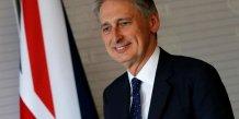 Philip hammond nomme ministre des finances