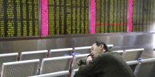 Bourse en Chine