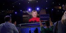 Hillary clinton officiellement dans la course a  la maison blanche