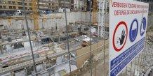 Bruxelles, chantier, BTP, Belgique, Construction,