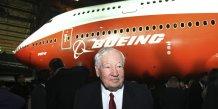 Joe Sutter a conçu avec son équipe, le Boeing 747 dans les années 60.