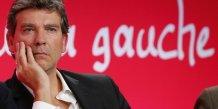 Arnaud montebourg propose une relance de 30 milliards