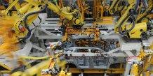 Hausse de la production industrielle en chine