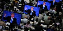 Trump Clinton débat