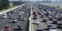 embouteillages en californie