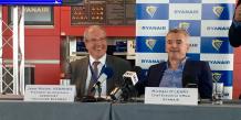 Michael O'Leary, directeur général de la compagnie Ryanair