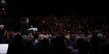 Le meeting d'Emmanuel Macron au Zénith de Montpellier a réuni plus de 1 500 personnes