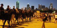 Dallas, Texas, Trump, Clinton, juin 2016, meeting,