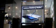 Samsung veut surmonter rapidement le choc du galaxy note 7