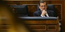 Rajoy pres de gagner la confiance du parlement espagnol