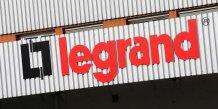 Legrand publie des resultats en hausse