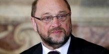 Schulz devrait quitter la tete du parlement europeen