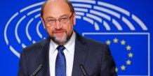 Schulz renonce a un nouveau mandat au parlement europeen