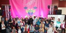 Les participants et gagnants de la YESS Académie 2016, à Montpellier