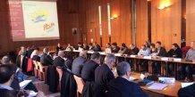 La réunion organisée par la DDTM 34 en préfecture de Montpellier, afin de comptabiliser la consommation d'espaces de l'Hérault.
