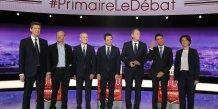 Primaire, gauche, Arnaud Montebourg, Jean-Luc Bennahmias, Francois de Rugy, Benoit Hamon, Vincent Peillon, Manuel Valls, Sylvia Pinel,