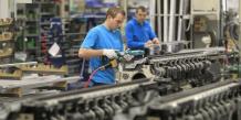 Leger ralentissement de la croissance du secteur prive en allemagne