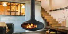 La cheminée Gyrofocus, produit-phare de l'entreprise Focus à Viols-le-Fort (34)