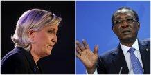 Marine le Pen Idriss Déby