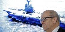 Le drian va annoncer son soutien a macron, selon le quotidien ouest-france