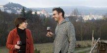 Olivier Leriche et sa femme, Florence