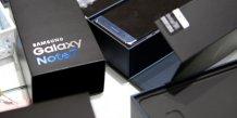 Samsung electronics va vendre des galaxy note 7 reconditionnes