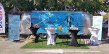 Après Toulouse, la Caravane HOP! Air France sillonnera les centres d'affaires de Montpellier d'ici l'été